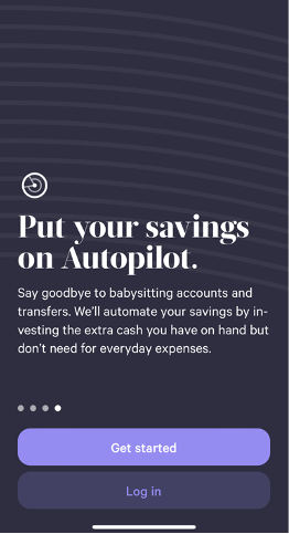Autopilot savings are a key benefit of using Wealthfront as you would a bank account, by depositing money into the Cash account.