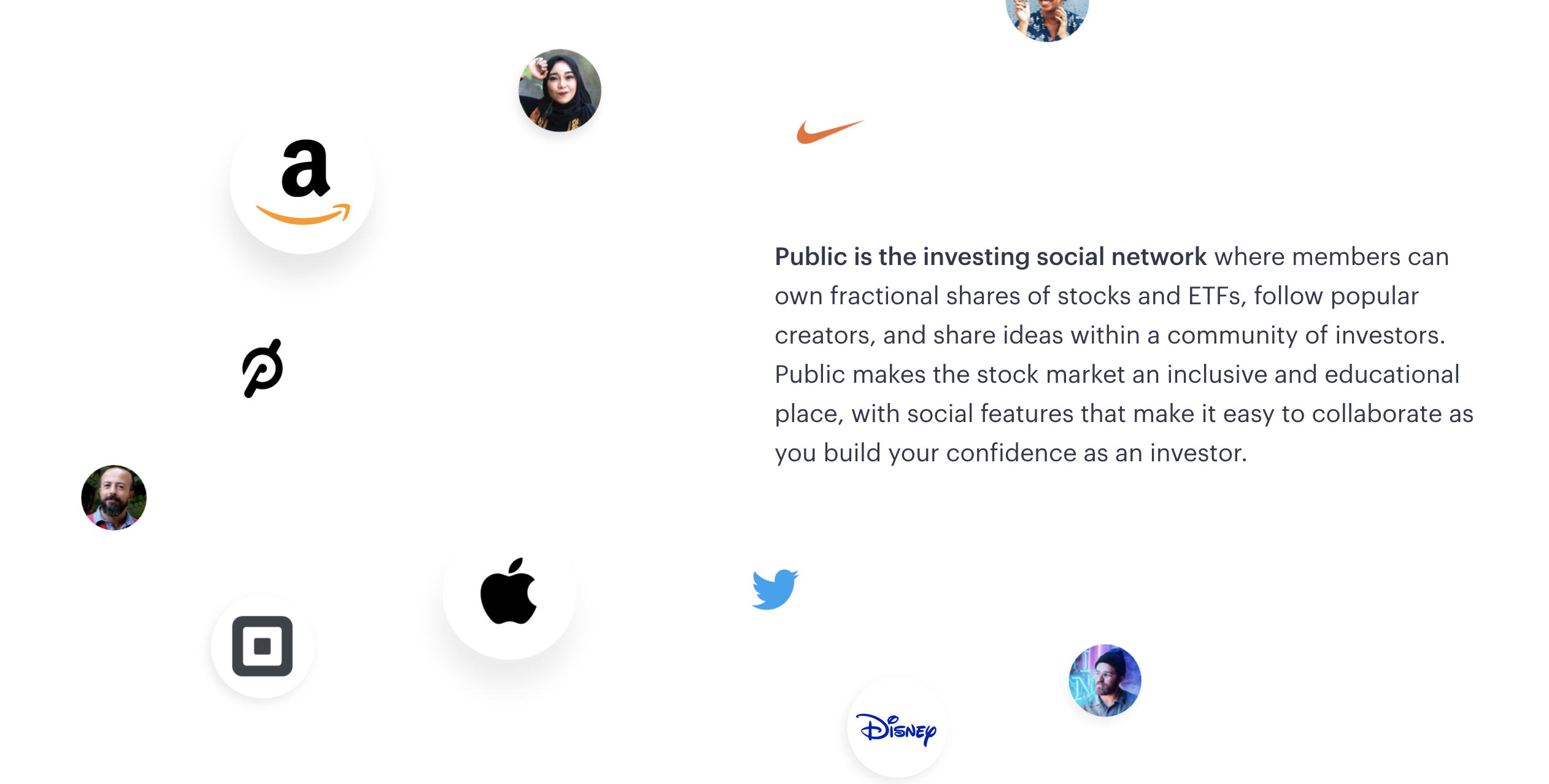 Public strives to make investing available to everyone. Like many other mobile-first apps, Public offers low fees and fractional shares. But their public investor portfolios, comprehensive Learn section, and social features set them apart from other free trade apps. Image from public.com.